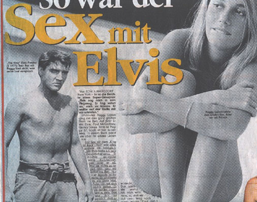 Elvis and sex